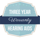 Three Year Hearing Aid Warranty